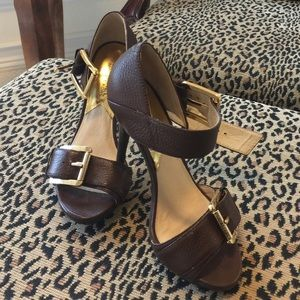 Michael Kors leather sandal